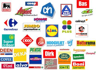 Supermarkten op een Rijtje