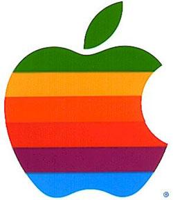 Apple Logo Kleurtjes oud