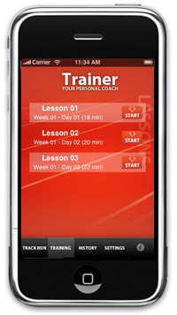 Running Trainer Lite App