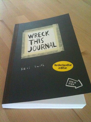 Wreck This Journal Project #1