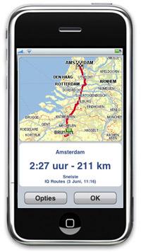 TomTom West-Europa app