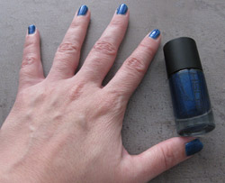 GOSH New Years Look 2010 Nail Lacquer Blue Monday 547