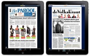 Volkskrant & Parool iPad apps