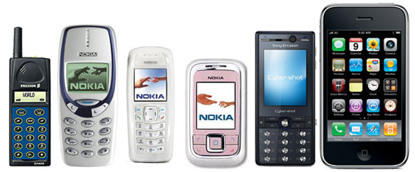 Nokia 3330, 6111, 3100 Sony K810, Ericsson GA628, Apple iPhone 3GS