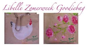 Libelle Zomerweek 2011 'Summer Garden' goodiebag
