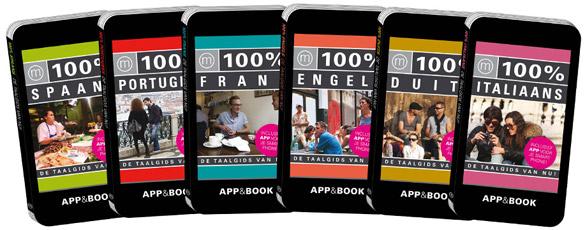 100% Frans, Spaans, Duits, Portugees, Engels, Italiaans App&Book