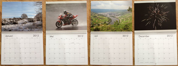 Vistaprint Fotokalender