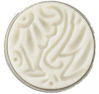 Noosa Amsterdam chunk batik stamp wit