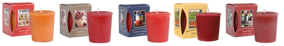 Bridgewater Candles Votive Geurkaarsjes Caramel Apples, Cranberry, Red Hot Cinnamon, Sangria, Spiced Cider