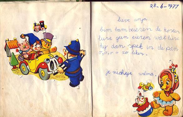 Poeziealbum versje Wilma