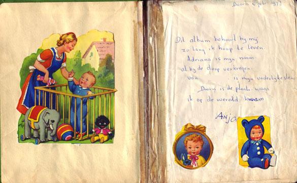 Poesiealbum versje Anja