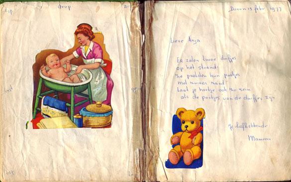 Poesiealbumversje mama