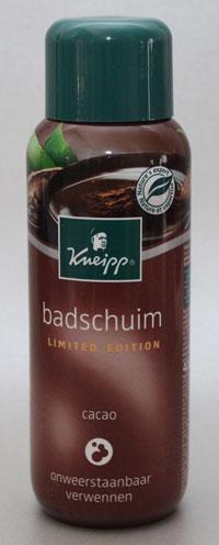 Kneipp Limited Edition Badschuim Cacao