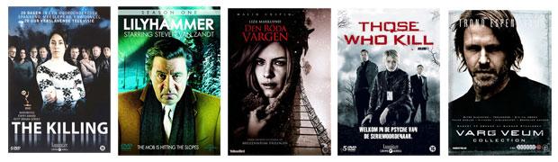 The Killing, Lilyhammer, Liza Marklund, Those who kill, Varg Veum,