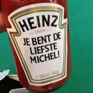 Heinz maak je etiket