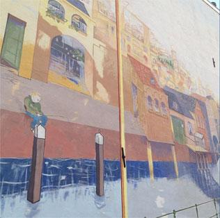 muurschildering draaiweg / lauwerecht  utrecht