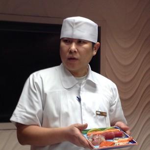 chefkok yamazato uitleg sushi workshop