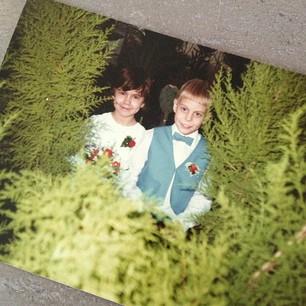 Anja en Mark bruidsmeisje en -jonker