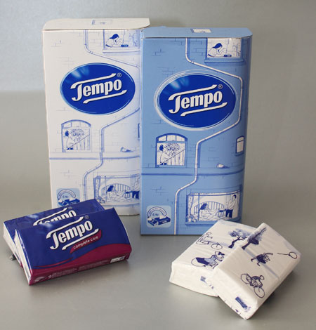 Tempo Tissues Box, Tempo Complete Care en Tempo Regular