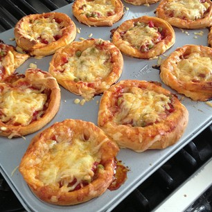 pizza cupcakes 2