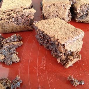 mislukte brownies