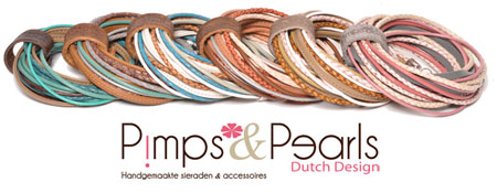 Pimps & Pearls Moesss2 multi Armband