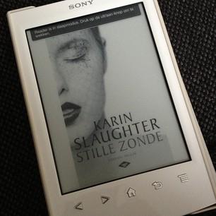 Karin Slaughter op e-reader