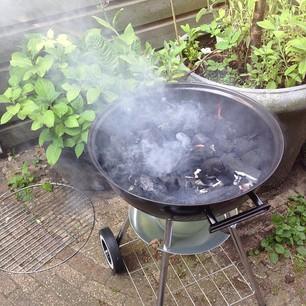 ouderwetsch barbecueën