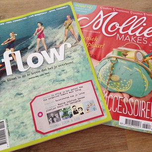 leesvoer mollie makes en flow magazine