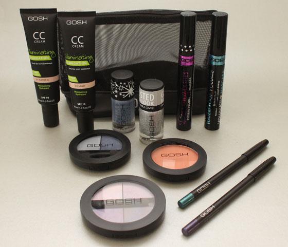 Nieuwe GOSH make-upjes