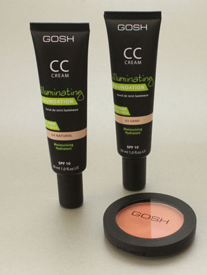 Nieuwe GOSH make-upjes cc cream en blush