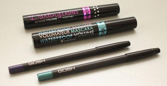 Nieuwe GOSH make-upjes eyeliners en mascara