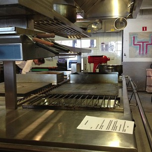 fifteen lege keuken