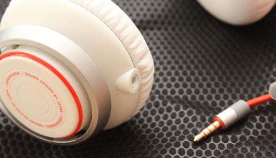 Jabra Revo Headphone plug kan ook aan de andere kant