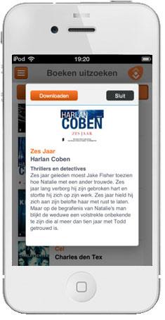 Vakantie Bieb App iPhone