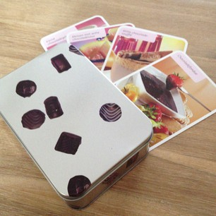 doosje met chocolade recepten