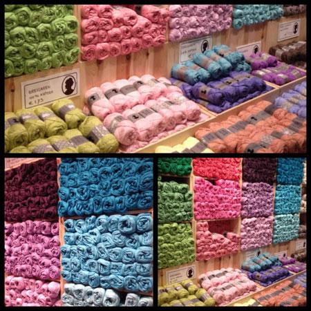 Søstrene Grene in Groningen wol