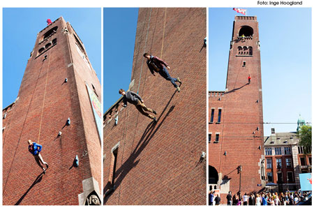 HEMA Haute Couture in Amsterdam verticale catwalk