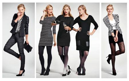 HEMA Haute Couture in Amsterdam zwart wit