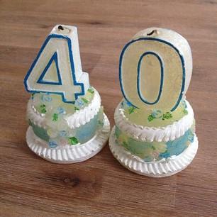 echt 40 geworden