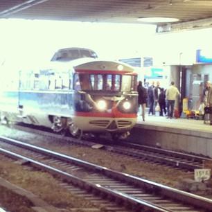 Oude trein