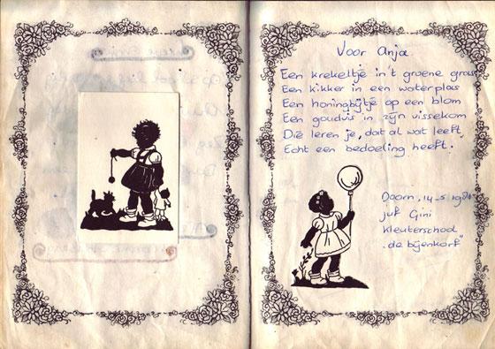 Poesiealbum versje 19