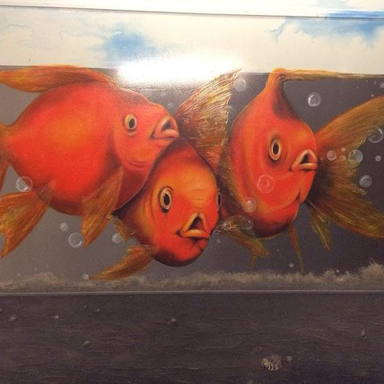 Vissen Driebergen-Zeist station