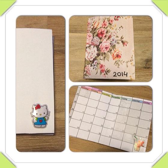 homemade maand-agenda
