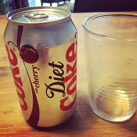 dieet coke cherry proberen