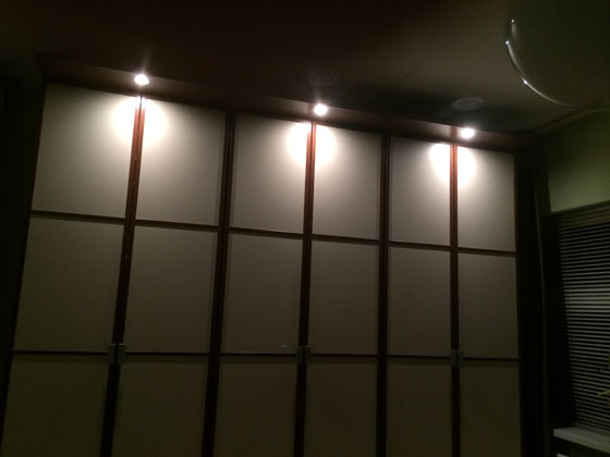 lampjes in de kast
