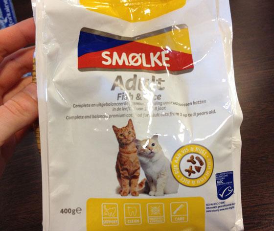 kattenvoer voor britt's katten