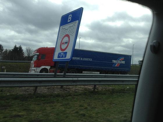 we zijn in België verkeersregels