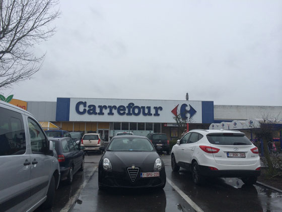 even naar carrefour