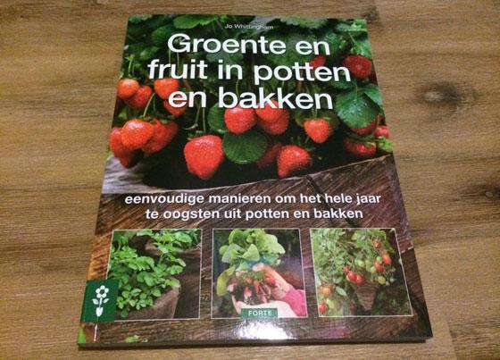 groenten en fruit in potten en bakken